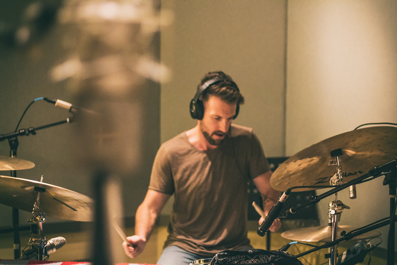 Drum Tracking at Blue Grotto Sound